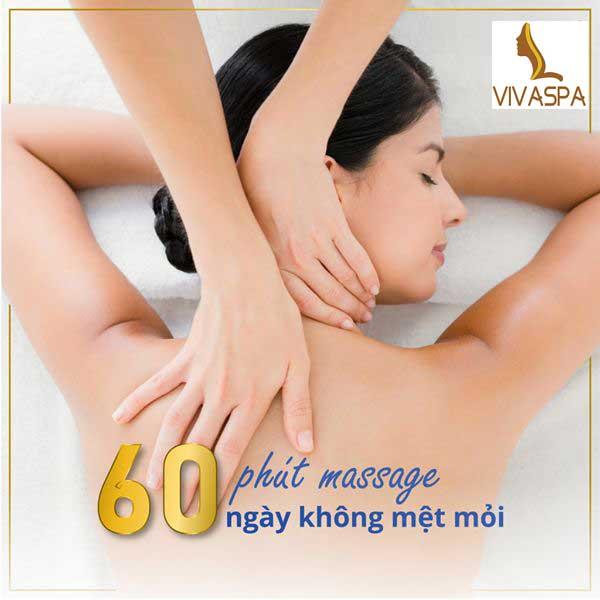 60 Phút Massage cổ vai gáy cho tuần không mệt mỏi
