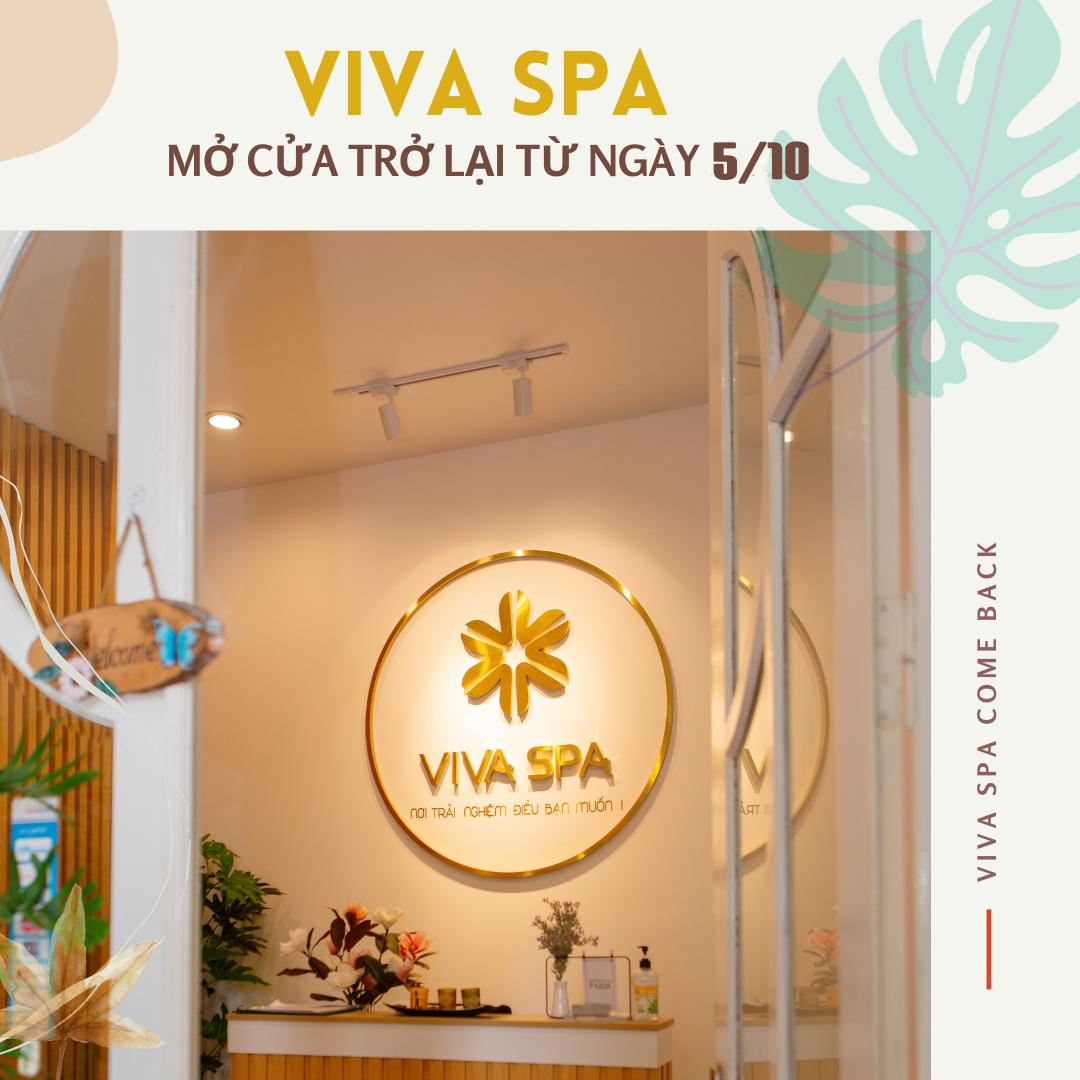 Viva mở cửa trở lại cùng diện mạo mới!